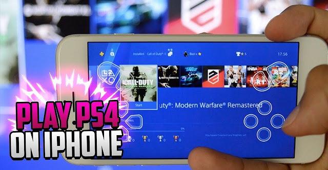 Cara Bermain Game PS4 di iPhone dan iPad