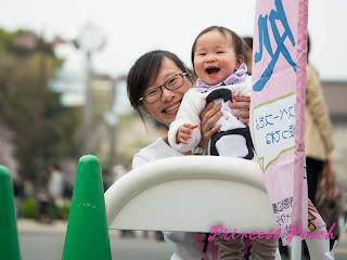 上野公園茉莉玩耍照