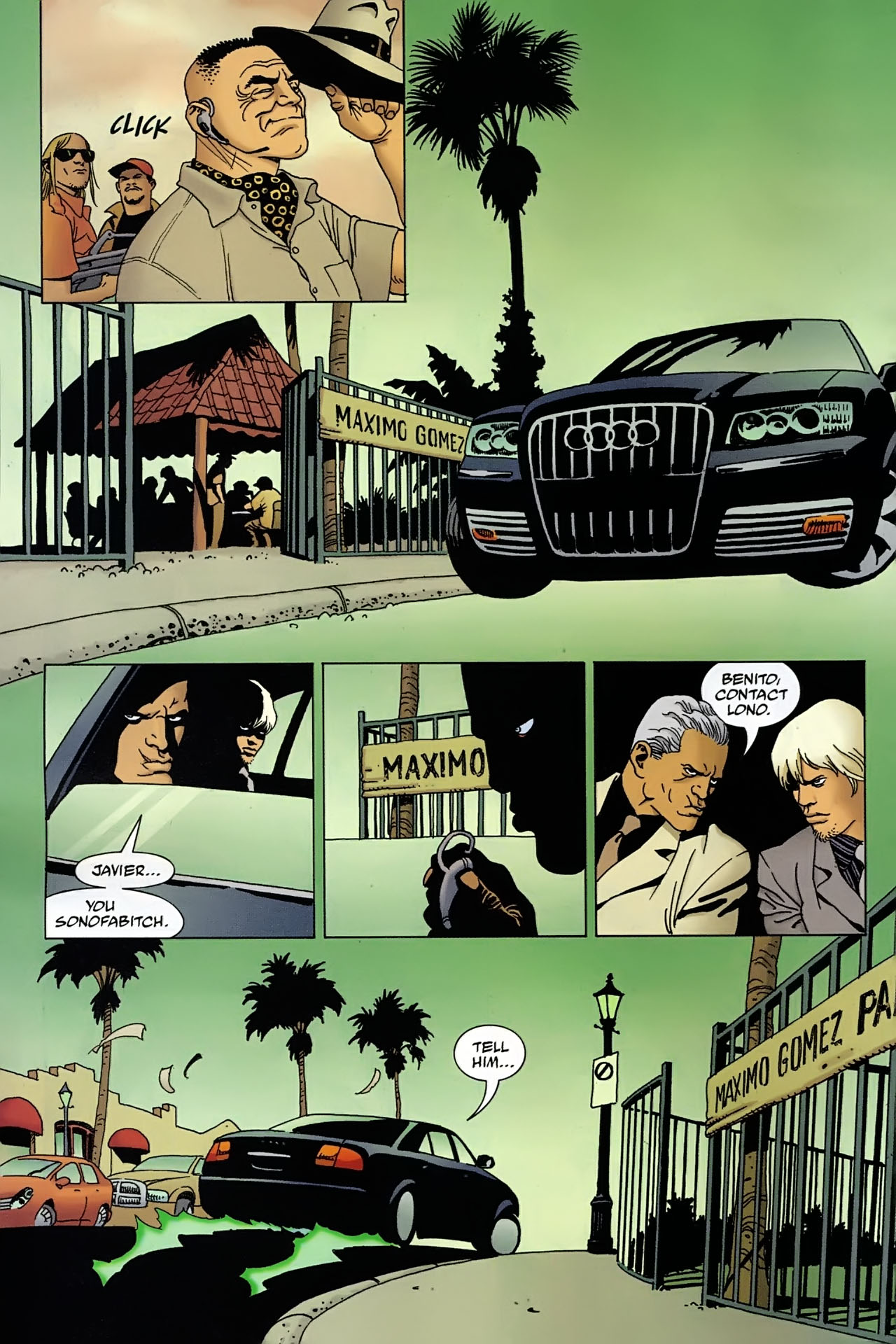 Read online 100 Bullets comic -  Issue #92 - 9