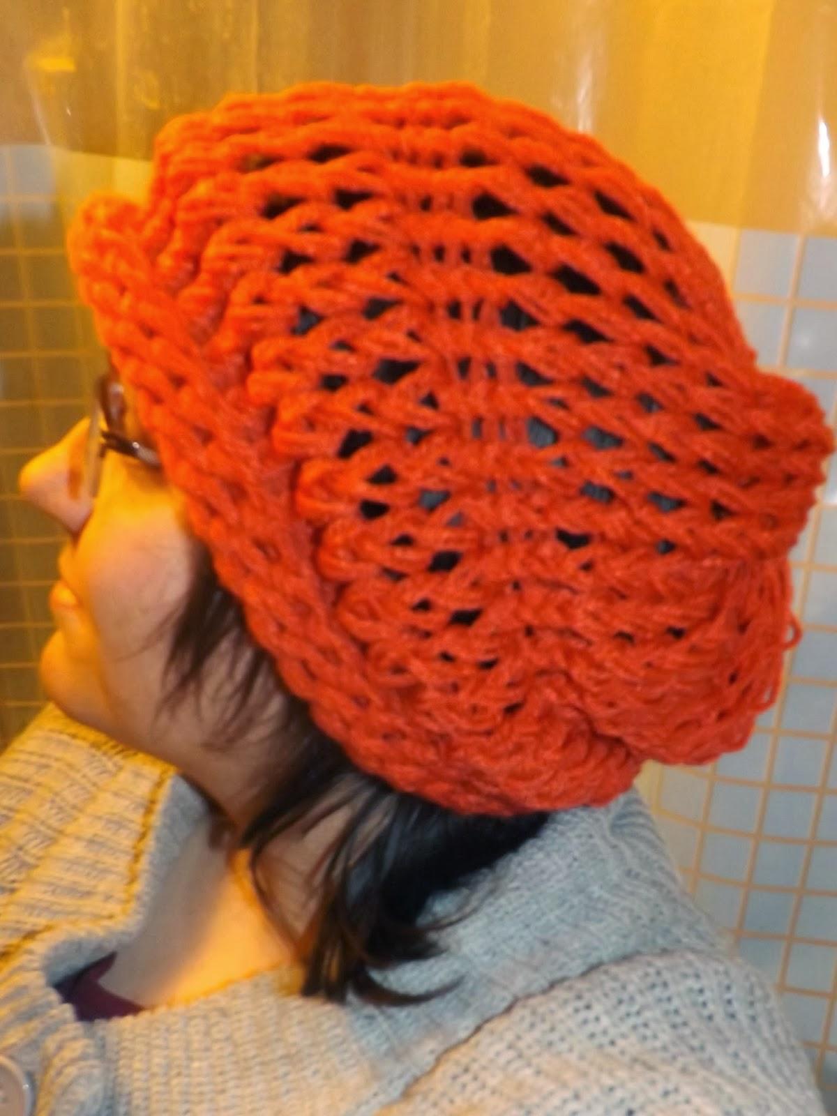 Simply Intertwined : Free Drop Stitch Hat Pattern