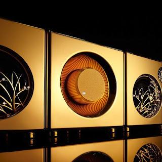 Speaker Berbahan 60 Kg emas Dengan Harga Selangit