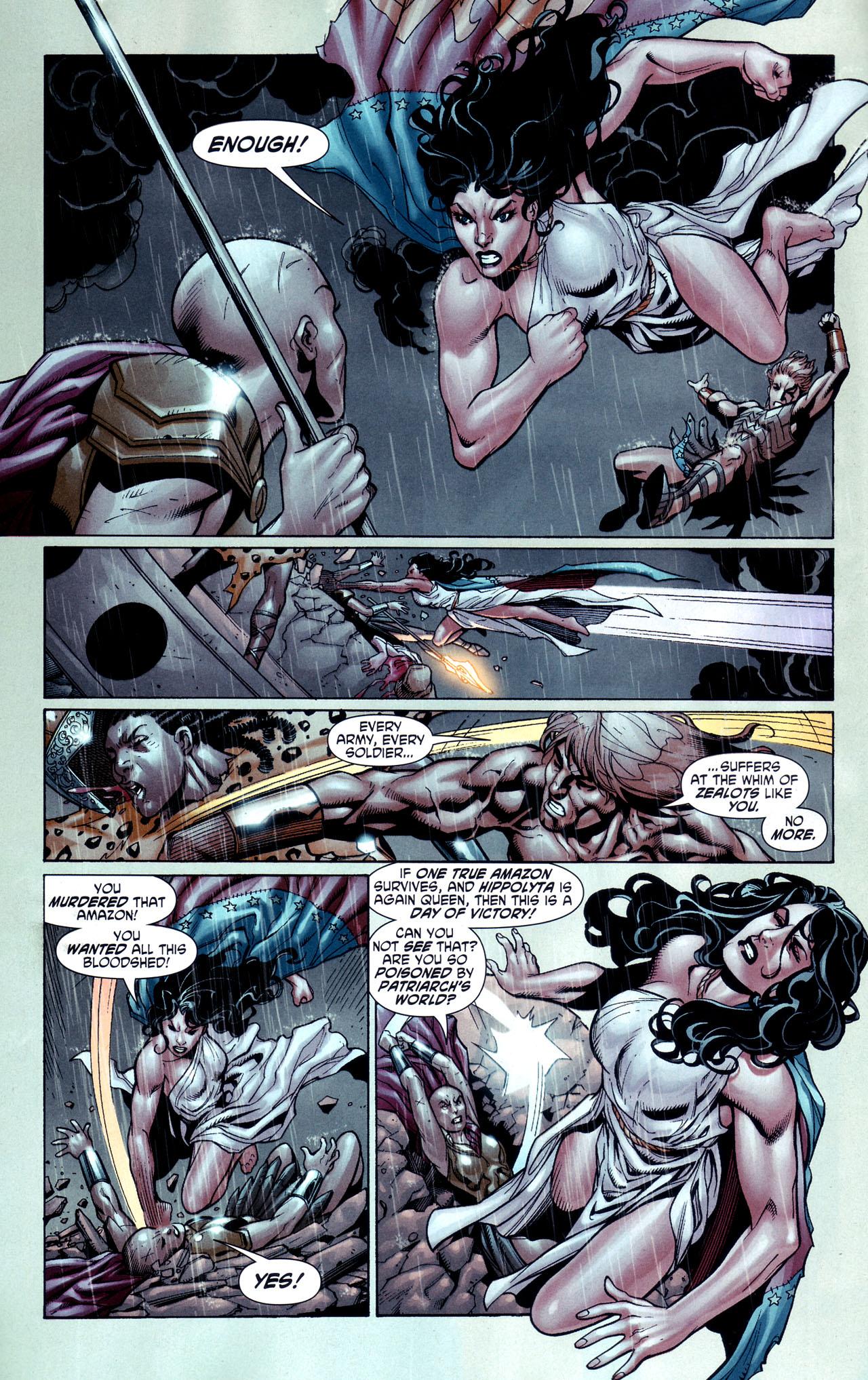 Read online Wonder Woman (2006) comic -  Issue #38 - 21