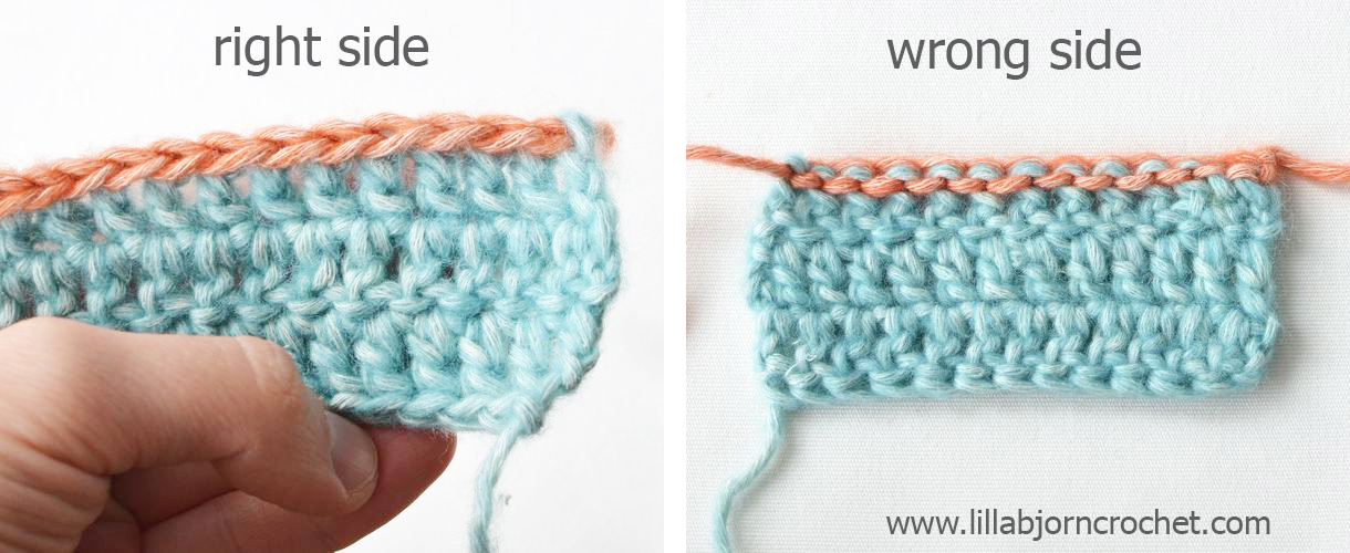 A crochet trick: how to restore foundation chain in crochet. Tutorial by Lilla Bjorn Crochet