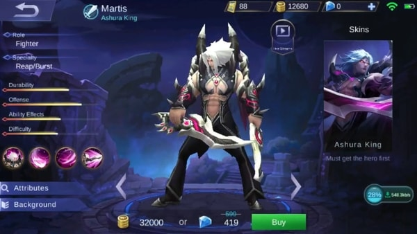 Martis Guide Best Item Build (Offense and Bruiser Build)