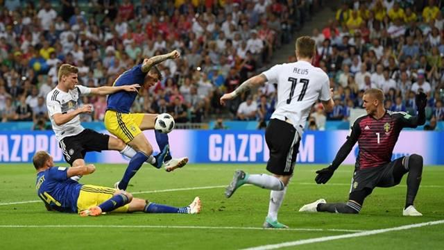 Jerman vs Swedia - Piala Dunia 2018