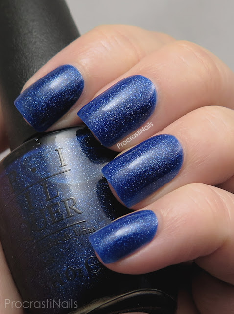 Swatch of OPI Give Me Space from the Holiday 2015 Starlight Collection