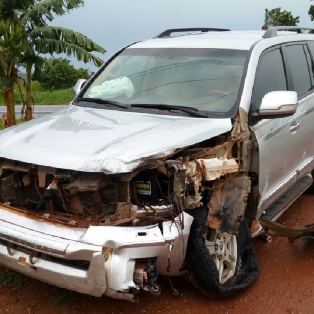 Asiedu Nketia escapes accident; one injured