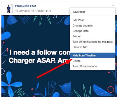 how to find hidden facebook posts