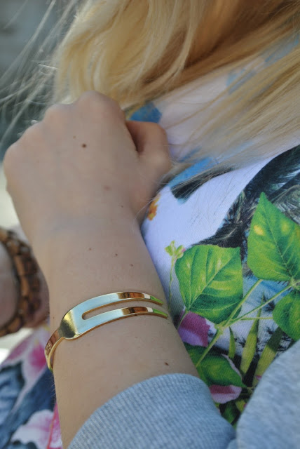 bracciale la forchetta mariafelicia magno fashion blogger color block by felym fashion blogger italiane fashion blogger milano