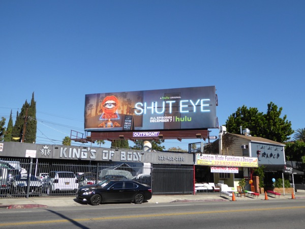 Shut Eye Hulu series billboard