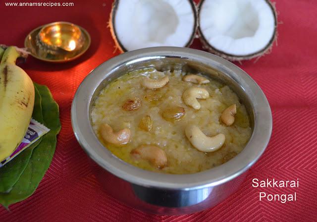 Chettinad Sakkarai Pongal