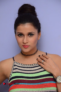 Actress Mannara Chopra Latest Pictures at Jakkanna Movie Platinum Disc Function 0001.JPG