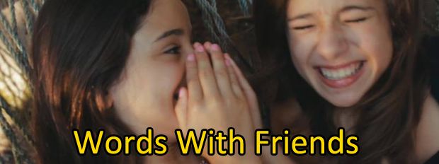 لعبة Words With Friends للماسنجر