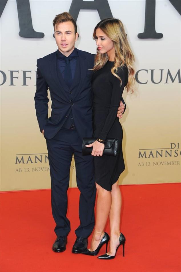 the girlfriend of footballer Mario Götze, much is too lean, the lovely Ann Kathrin Brömmel