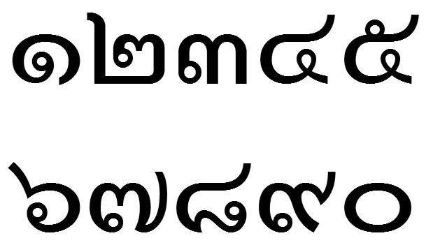 angka, huruf, bahasa, belajar, thailand, online
