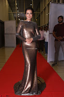 Actress Catherine Tresa in Golden Skin Tight Backless Gown at Gautam Nanda music launchi ~ Exclusive Celebrities Galleries 023.JPG