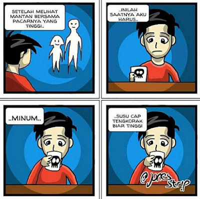 10 Komik Strip Kehidupan Jones Tingkat Dewa Ini Kocak Banget