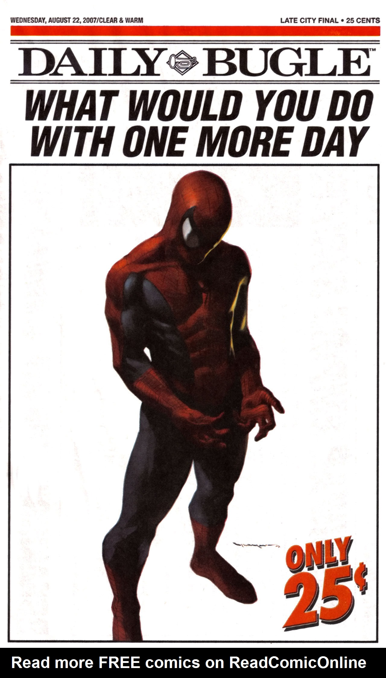 Read online Daily Bugle (2006) comic -  Issue #12 - 1