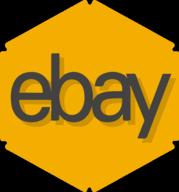 ebay hexagon icon