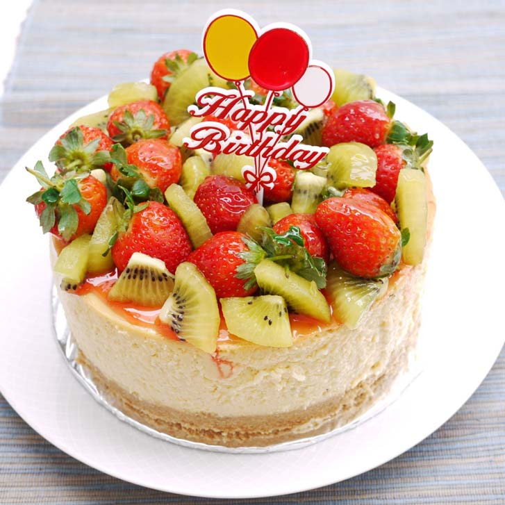 Chocolate Fruit Birthday Cake Recipe Image Inspiration of Cake