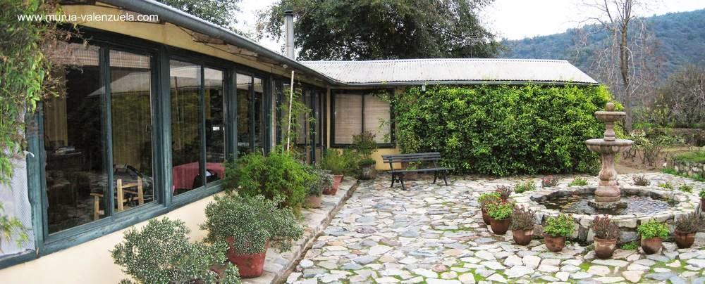 Casa de campo tradicional chilena reformada