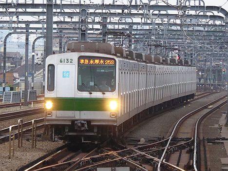 【14年ぶり復活!】東京メトロ6000系の準急 本厚木行き