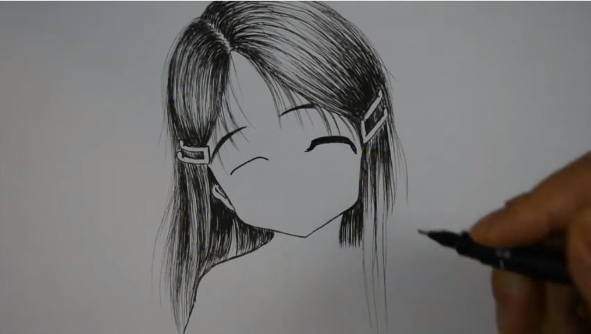 درس رسم انمي خطوة بخطوة للمبتدئين تعلم الرسم