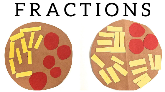 Fraction activities and ideas for lesson plans