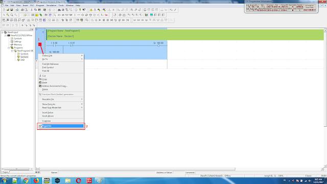 Cara Membuat Tulisan atau Note di Ladder PLC CX Programmer