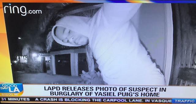 Según la policía de Los Ángeles, los ladrones dejaron daños en la casa de Puig por valor de 10 mil dólares, lejanos al 170 mil que se reportaron en joyas perdidas en marzo del 2017 cuando Yasiel aún vivía en Sherman Oaks
