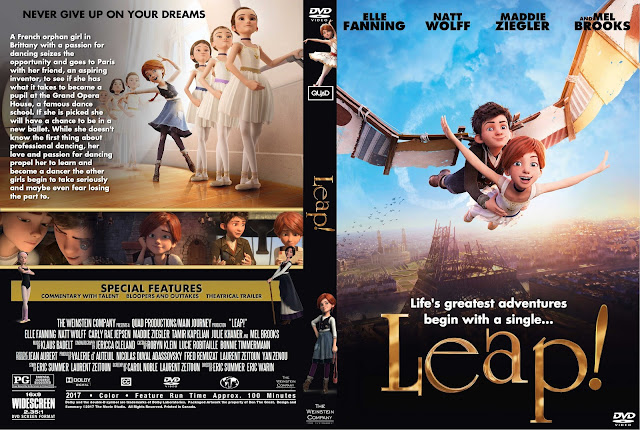 Leap DVD Cover