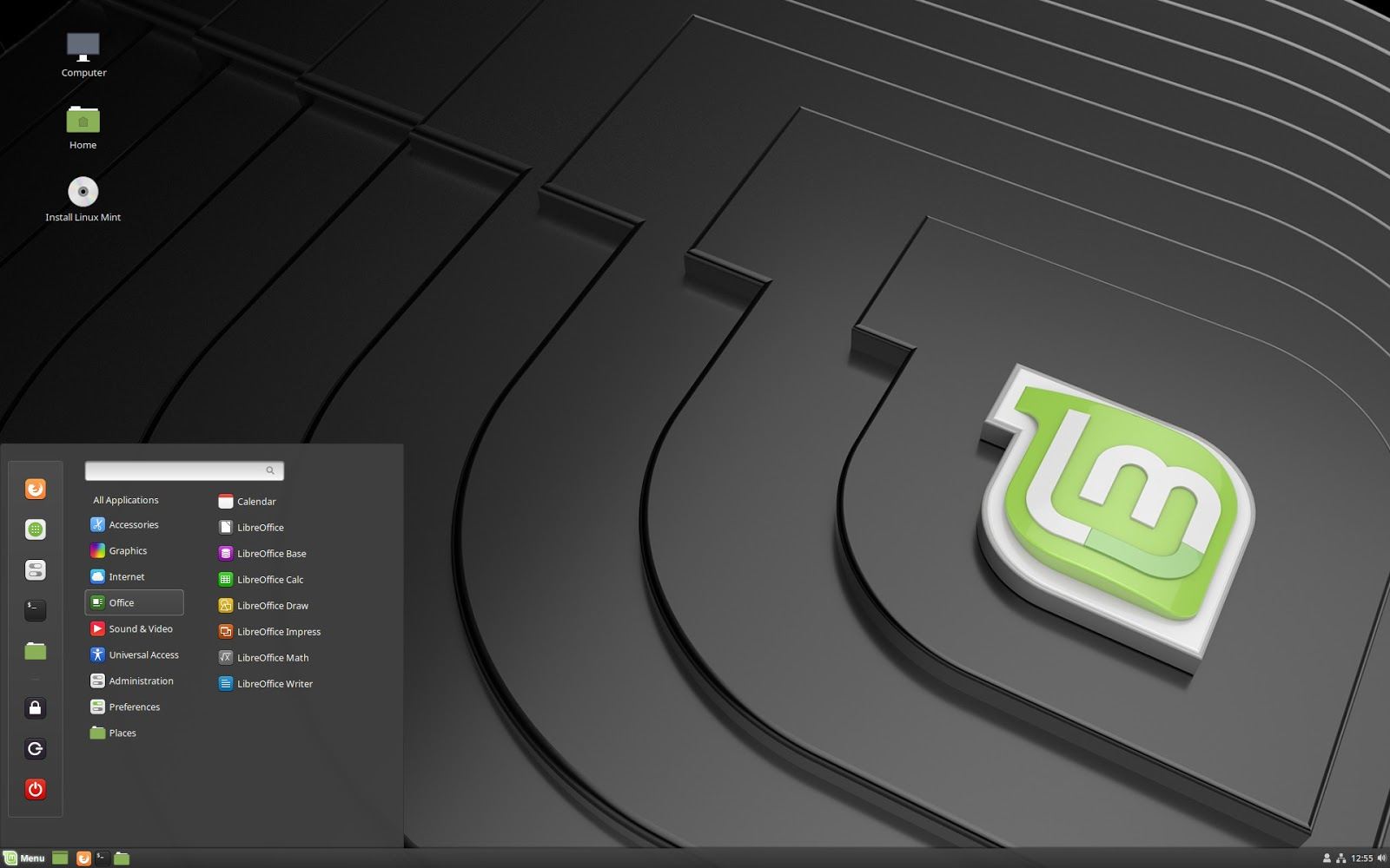 Linux Mint 19 Cinnamon Edition β版