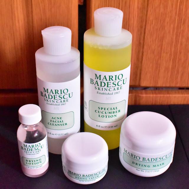 My Latest Sephora Haul Mario Badescu Acne Control Kit