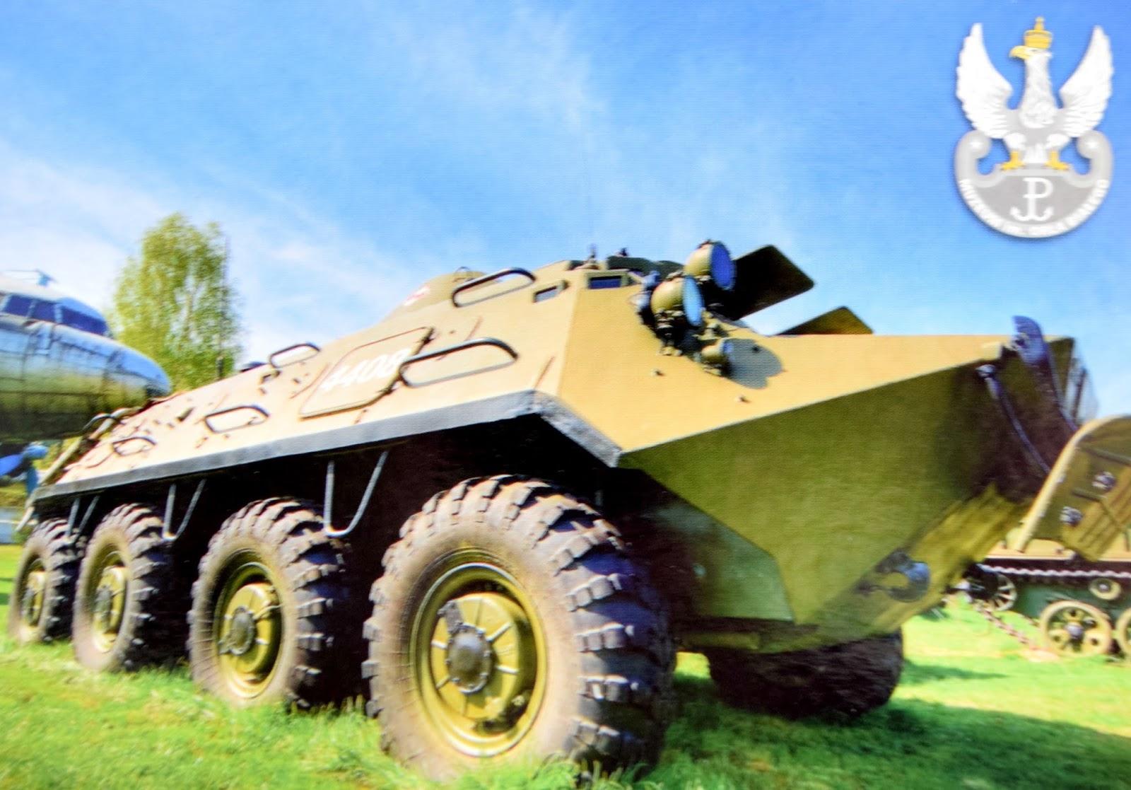 Bojowy Transporter Rozpoznawczy BTR-60PB