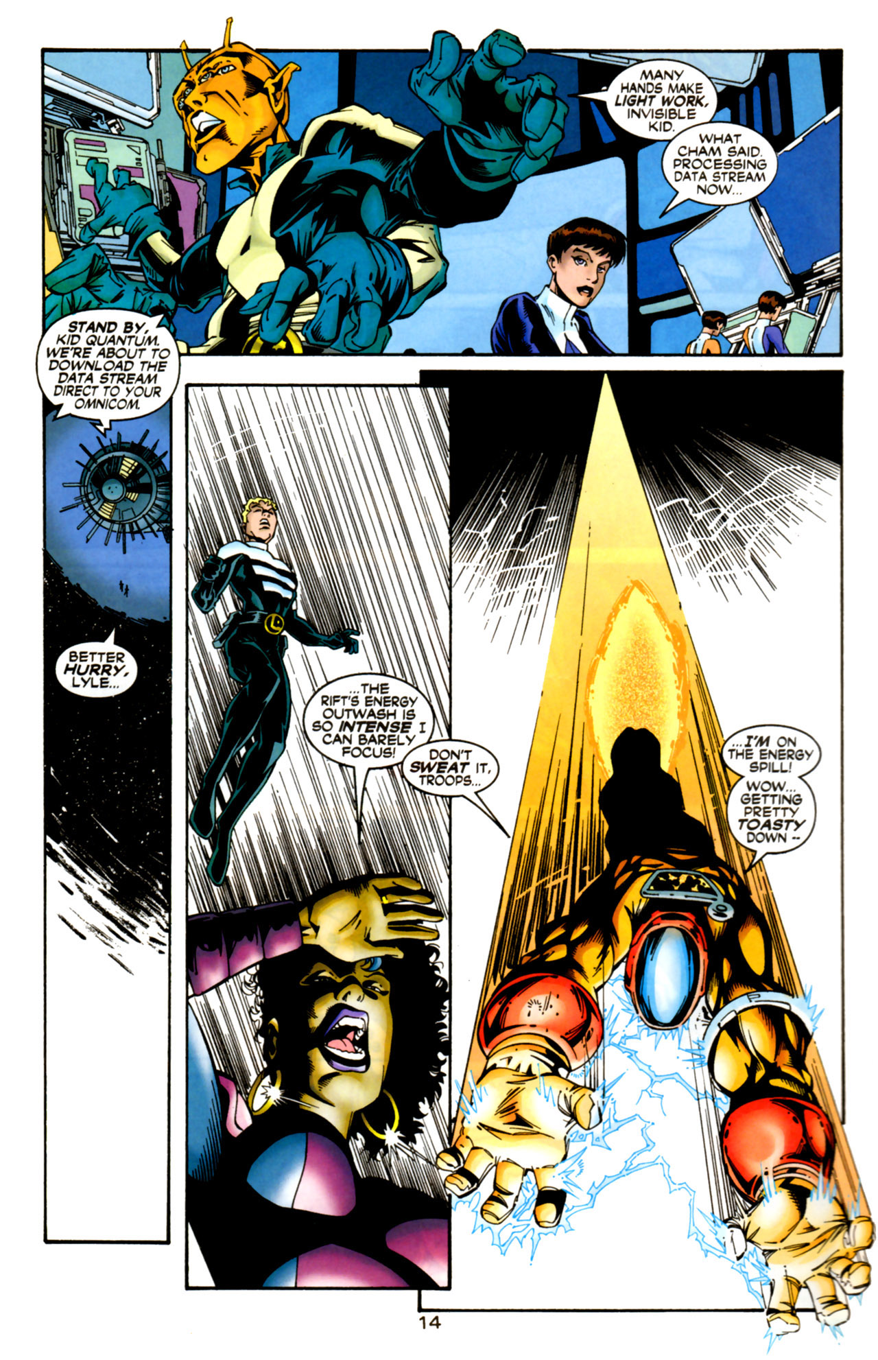 Legion of Super-Heroes (1989) 125 Page 14