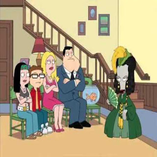 american dad roger and francine