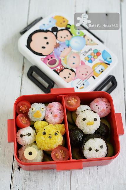 tsum tsum rice balls