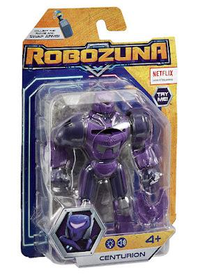 ROBOZUNA Robot Centurion : Figura de acción - Muñeco 15 cm   Producto Oficial Serie Netflix 2019 | A partir de 4 años  COMPRAR ESTE JUGUETE