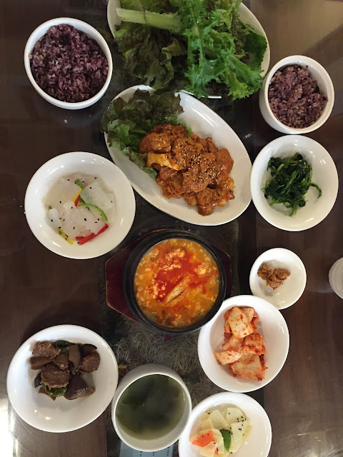 Oh Se Gae Hyang vegetarian restaurant in Insadong, Seoul serves vegetarian Korean food so is a great way to taste traditional Korean food if you are vegan or vegetarian!