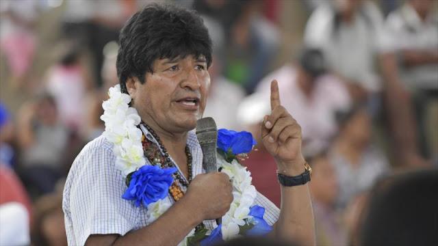Morales: Hace 35 años reciclaron 'dominio imperial' por democracia