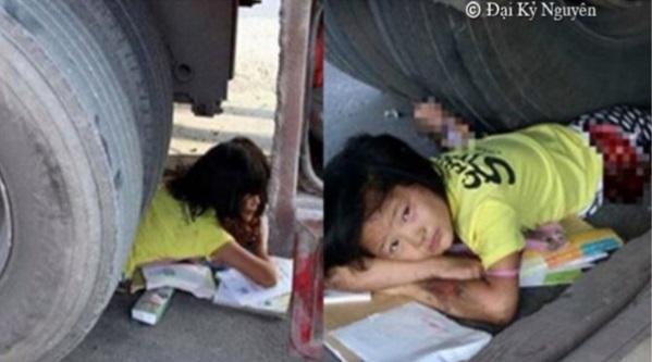 Tragis! Gadis Berusia 11 Tahun Ini Kakinya Hancur Digilis Trak Seberat 40 Tan, Dia Harus Menahan Rasa Sakit Untuk Seketika Sebelum Bantuan Tiba…!