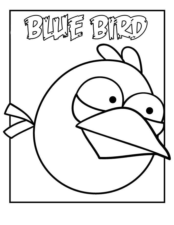 Angry Birds Coloring Pages ~ Free Printable Coloring Pages ...