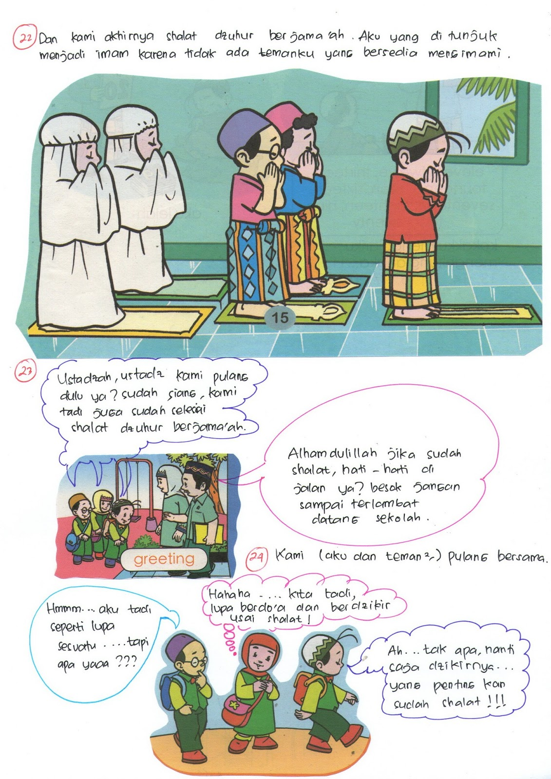 Pendidikan Muslim Komik Anak Sholeh