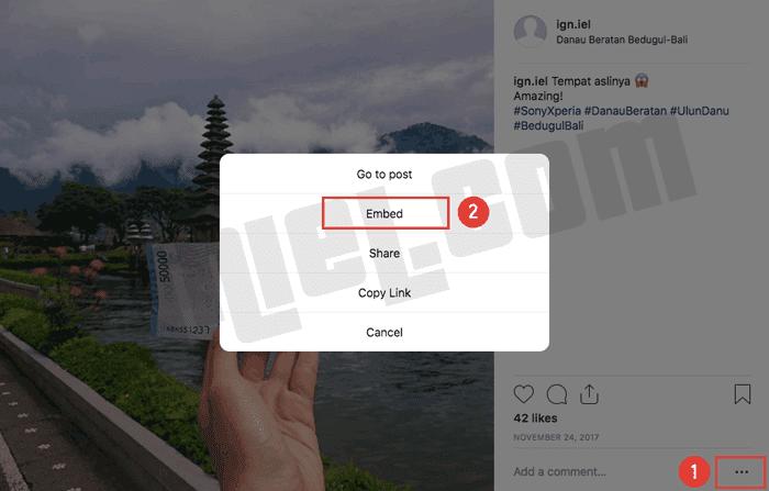 Bagaimana Menyisipkan Postingan Instagram ke Dalam Blog dan Website