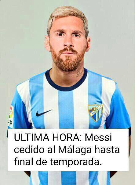 Leo Messi ficha por el Málaga