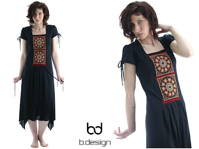 rochie, asimetrica, broderie, hippy, lucrata manual, rochie neagra,handmade,