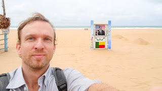 Me at the Obama beach in Cotonou