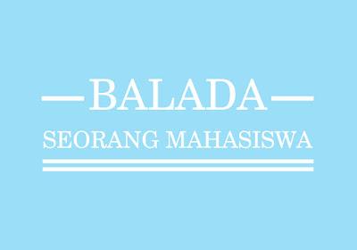 Balada Seorang Mahasiswa
