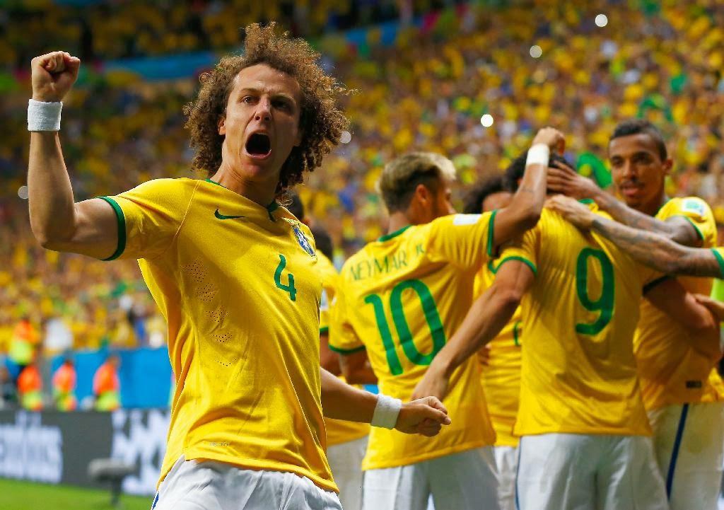 ALL SPORTS PLAYERS: David Luiz Young Brazilian Footballer 2014