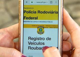 Polícia Rodoviária Federal cria App para facilitar identificação de veículos roubados